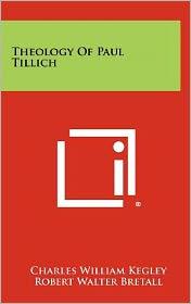 Theology Of Paul Tillich