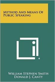 Method and Means of Public Speaking