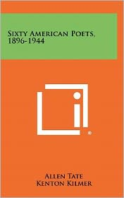 Sixty American Poets, 1896-1944