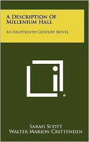 A Description of Millenium Hall: An Eighteenth Century Novel