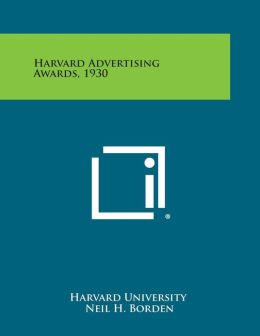 Harvard Advertising Awards, 1930