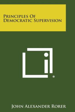 Principles Of Democratic Supervision