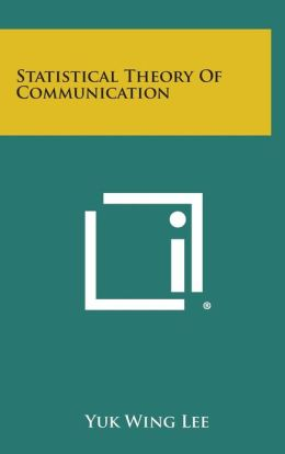 Statistical Theory Of Communication
