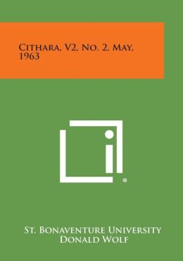 Cithara, V2, No. 2, May, 1963