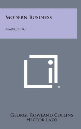 Modern Business: Marketing