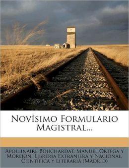 Novisimo Formulario Magistral...
