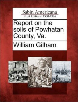 Report on the soils of Powhatan County, Va.