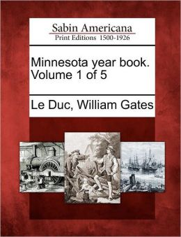 Minnesota year book. Volume 1 of 5
