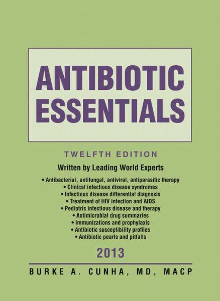 Antibiotic Essentials 2013
