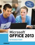 Book Cover Image. Title: Microsoft Office 2013:  Introductory, Author: Misty E. Vermaat