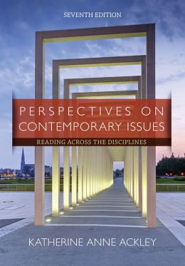Perspectives on Contemporary Issues: Reading Across the Disciplines