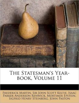 The Statesman's Year-book, Volume 11