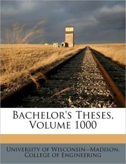 Bachelor's Theses, Volume 1000
