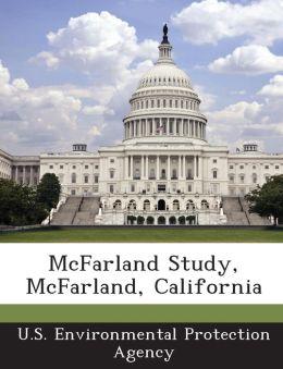 McFarland Study, McFarland, California