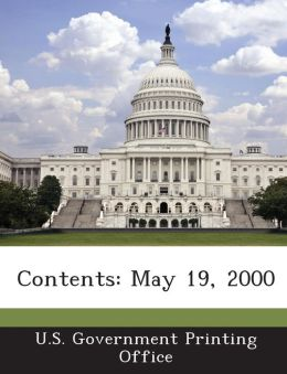 Contents: May 19, 2000
