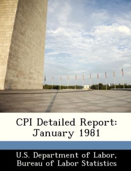 CPI Detailed Report: January 1981