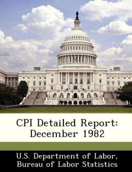 CPI Detailed Report: December 1982