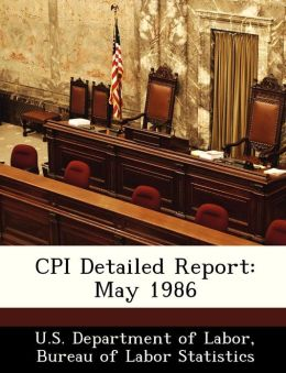CPI Detailed Report: May 1986