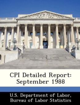 CPI Detailed Report: September 1988