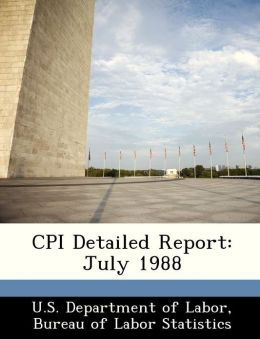 CPI Detailed Report: July 1988