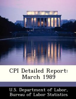 CPI Detailed Report: March 1989