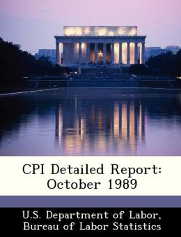 CPI Detailed Report: October 1989