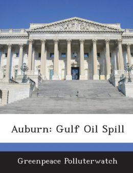Auburn: Gulf Oil Spill