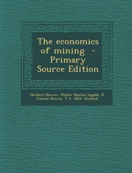 Economics of Mining