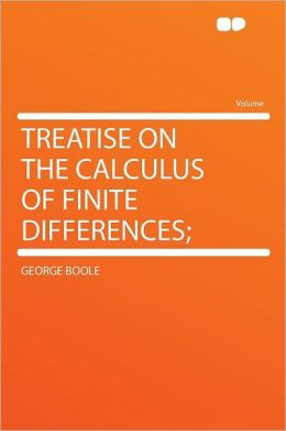 Treatise on the Calculus of Finite Differences;