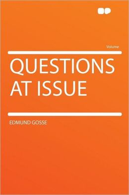Questions at Issue