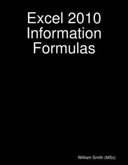 Excel 2010 Information Formulas