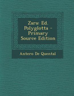 Zara: Ed. Polyglotta