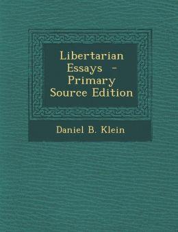 Libertarian Essays