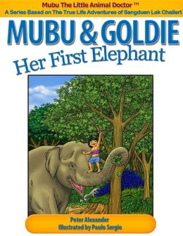 Mubu & Goldie - Her First Elephant