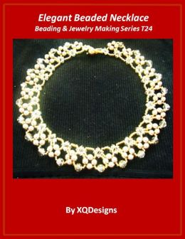 Elegant Beaded Necklace Beading & Jewelry Making Tutorial Series T24