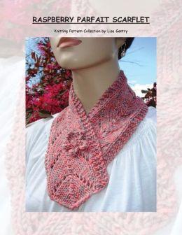 Raspberry Parfait Scarflet - Knitting Pattern