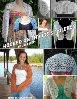 Hooked On Shrugs & Boleros - Crochet Patterns