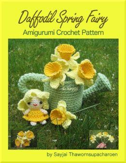 Daffodil Spring Fairy Amigurumi Crochet Pattern
