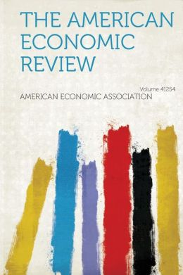 The American Economic Review Volume 41254