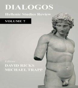 Dialogos: Hellenic Studies Review