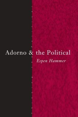 Adorno and the Political