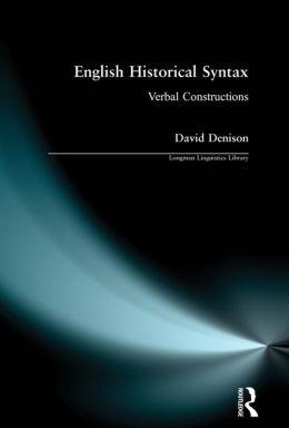English Historical Syntax
