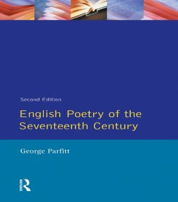 English Poetry of the Seventeenth Century