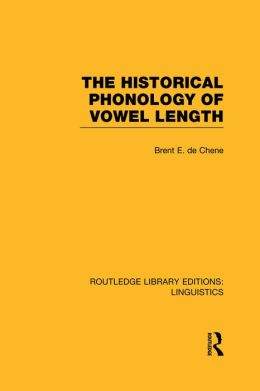 The Historical Phonology of Vowel Length