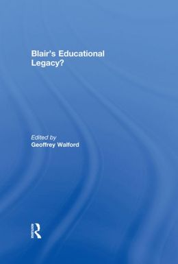 Blair's Educational Legacy?