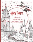 Book Cover Image. Title: Harry Potter Magical Places & Characters Coloring Book, Author: Scholastic