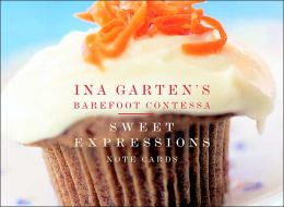 Ina Garten's Barefoot Contessa Sweet Expressions Small Note Cards in a Two- Piece Box