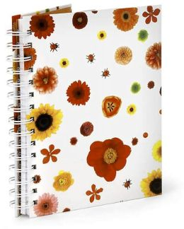 Wild Flowers Wire-O Bound Journal