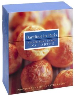 Barefoot Contessa Barefoot in Paris Recipe Note Cards set of 12