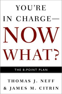 You're in Charge - Now What?: The 8-Point Plan